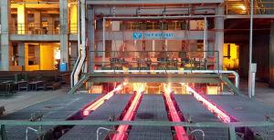 Dây chuyền sản xuất thép của Hòa Phát